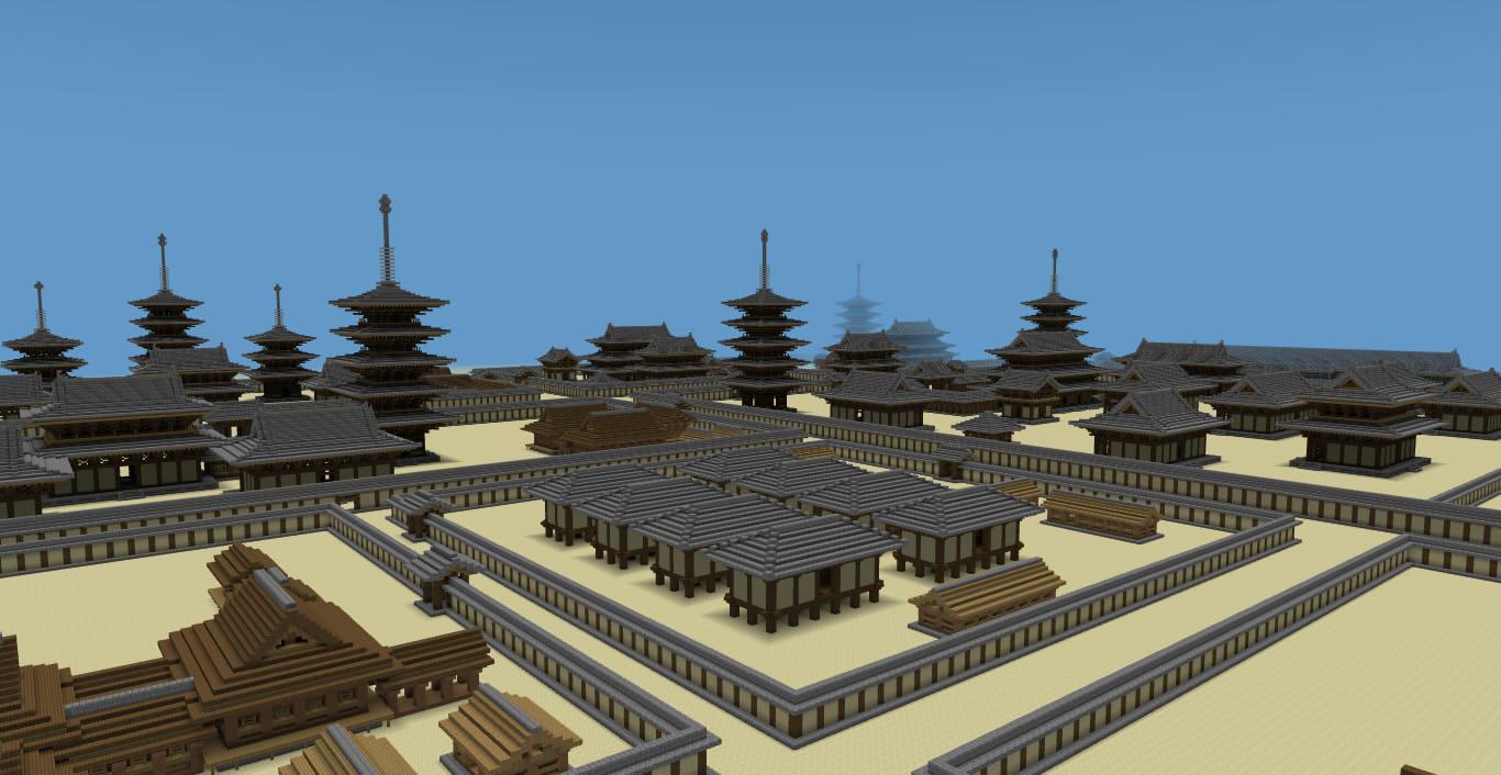... Minecraft Japanese Structures ...