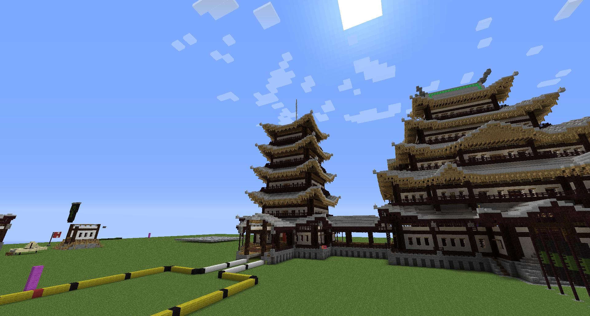 Image Minecraft japanese gabled roofjpg Amythysts