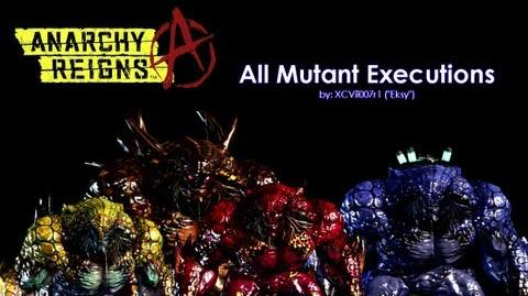 Anarchy Reigns - All Mutant Executions Finishers-0