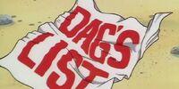 Dag's List