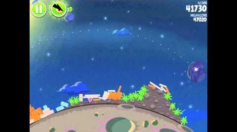 Angry Birds Space Pig Bang 1-22 Walkthrough 3-star