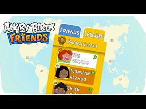 Angry Birds Friends – Learn about the League Tiers!