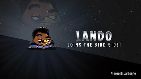 NEW! Angry Birds Star Wars 2 Carbonite Pack character reveals Lando