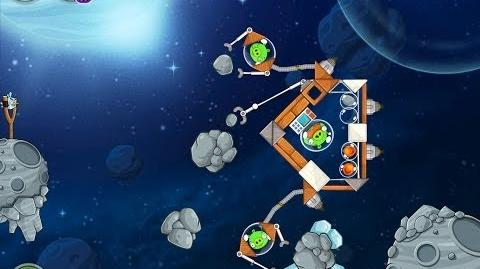 Angry Birds Space Beak Impact 8-6 Walkthrough 3 Star