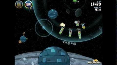 Angry Birds Star Wars 2-36 Death Star 3-Star Walkthrough