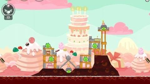 Angry Birds Birdday Party Cake 4 Level 2 Walkthrough 3 Star