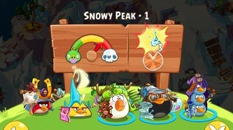 Angry Birds Epic Snowy Peak Level 1 Walkthrough
