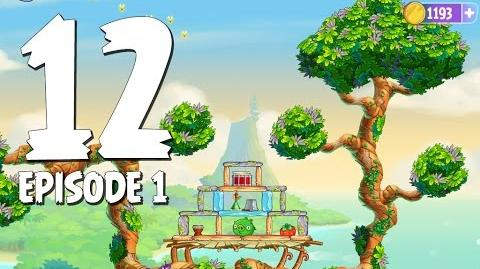 Angry Birds Stella Level 12 Walkthrough Branch Out Episode 1