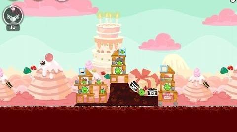 Angry Birds Birdday Party Cake 4 Level 5 Walkthrough 3 Star