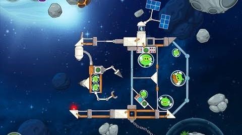 Angry Birds Space Beak Impact 8-17 Walkthrough 3 Star