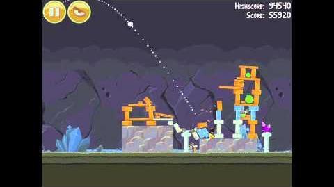 Angry Birds 17-5 Mine & Dine 3 Star Walkthrough