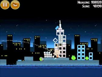 Official Angry Birds Walkthrough Danger Above 7-1