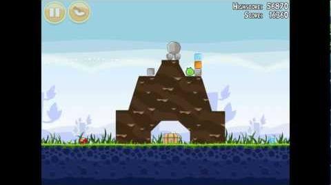 Angry Birds Poached Eggs 1-8 Walkthrough 3 Star