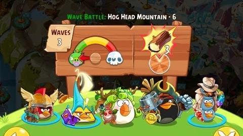 Angry Birds Epic Hog Head Mountain Level 6 Walkthrough
