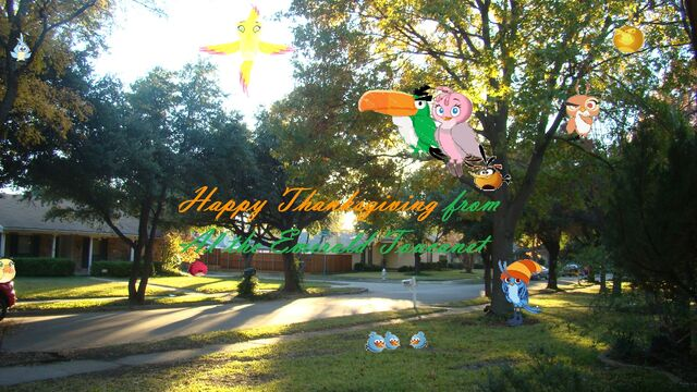 File:Happy Thanksgiving from Al the Emerald Toucanet.jpg