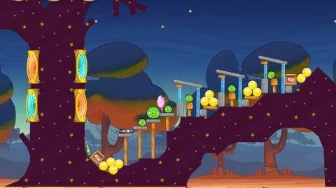 Angry Birds Seasons Abra-ca-Bacon 1-1 Walkthrough 3-Star
