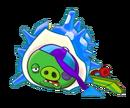 Angry Birds Fight! - Monster Pigs - Sazae Family - Sazae Kid - Win