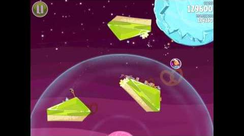 Angry Birds Space Utopia 4-21 Walkthrough 3-Star