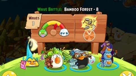 Angry Birds Epic Bamboo Forest Level 8 Walkthrough