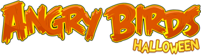 Angry Birds Halloween logo
