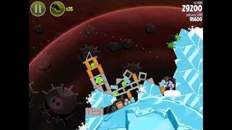 Angry Birds Space Danger Zone Level 11 Walkthrough 3 Star