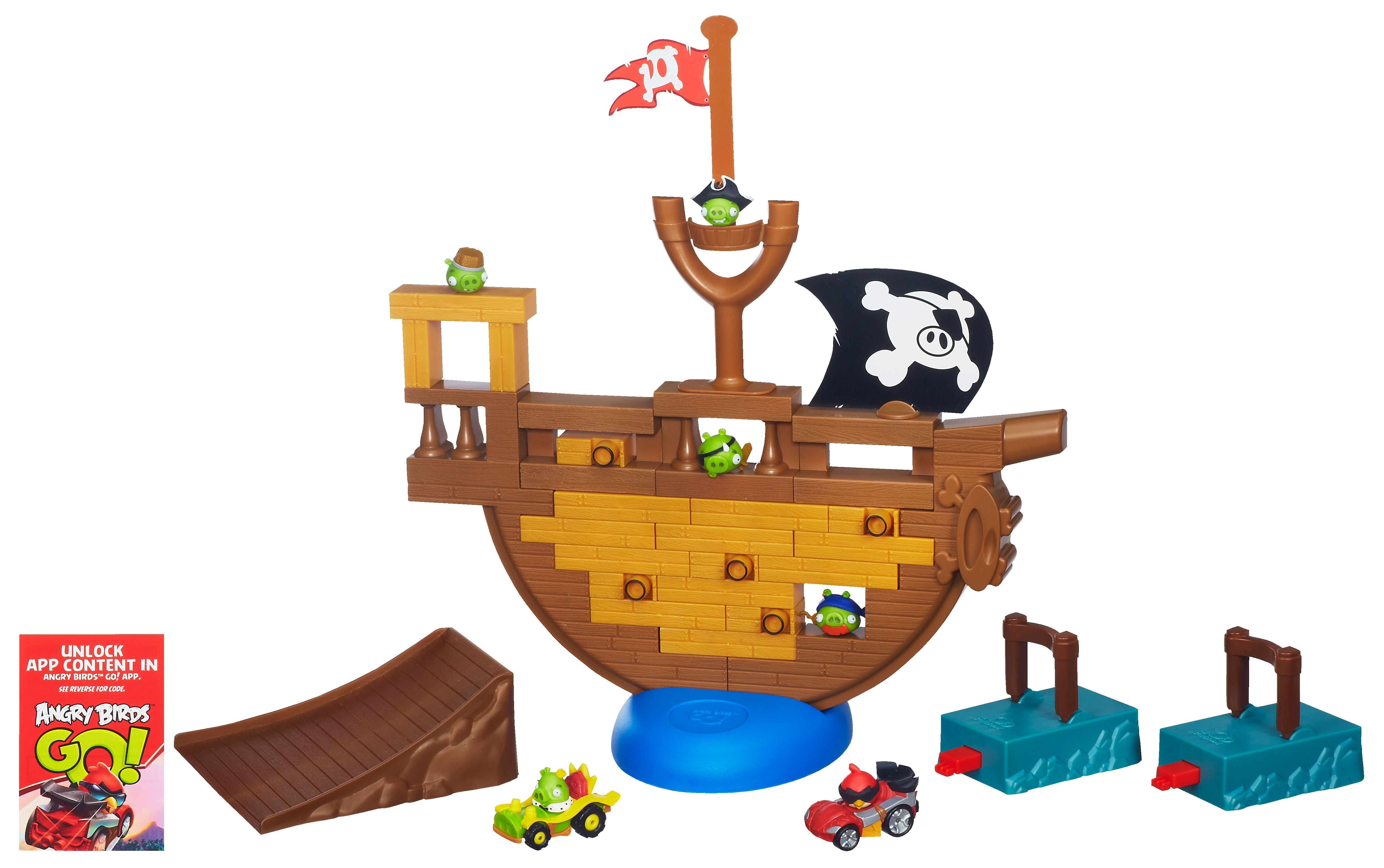 ANGRY BIRDS GO Pirate Pig Attack  Achat / Vente pion  figurine de jeu