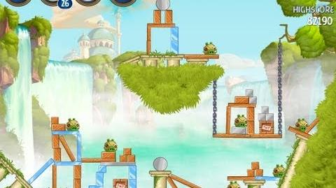 Angry Birds Star Wars 2 Level B1-18 Naboo Invasion 3 star Walkthrough