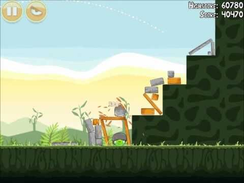 Official Angry Birds Walkthrough Poached Eggs 2-6