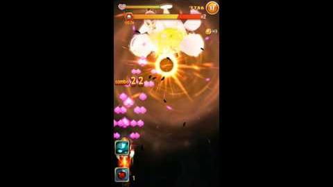 Angry Birds Ace Fighter Bomb Super Skill Bomb