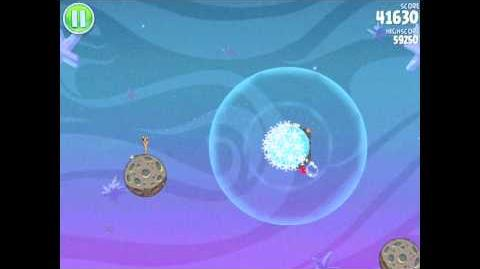 Angry Birds Space Fry Me to the Moon 3-2 Walkthrough 3-Star