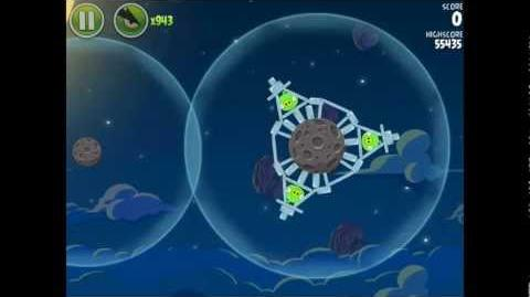 Angry Birds Space Pig Bang 1-12 Space Eagle Walkthrough