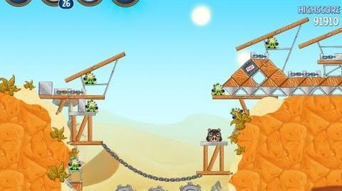 Angry Birds Star Wars 2 Level B2-13 Escape To Tatooine 3 star Walkthrough