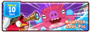 Angry Birds Fight! - Monster Pigs - Love Pig - Incoming