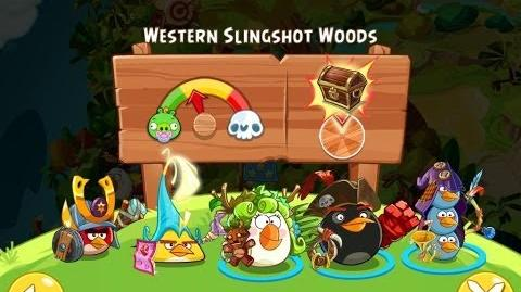 Angry Birds Epic Western Slingshot Woods Walkthrough