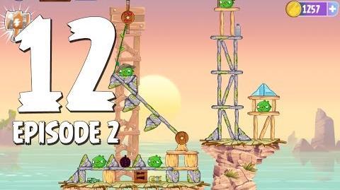 Angry Birds Stella Level 12 Episode 2 Beach Day Walkthrough