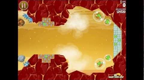 Angry Birds Space Red Planet Bonus Level S-12 Walkthrough