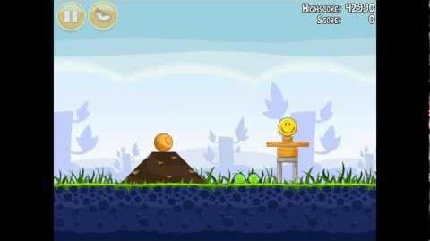 Angry Birds Poached Eggs 1-3 Walkthrough 3 Star
