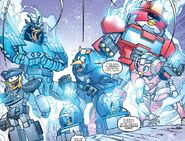 Angry Birds Jazz Drift Bluestreak Heatwave and Arcee