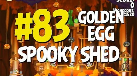 Angry Birds Seasons Hammier Things Golden Egg 83 Walkthrough