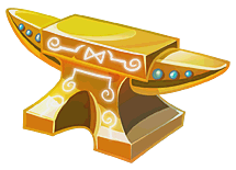 File:GoldenAnvil (Transparent).png
