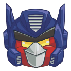 OPTIMUS HEAD TRANSPARENT