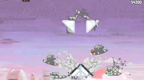 Angry Birds Star Wars 4-5 Cloud City 3-Star Walkthrough