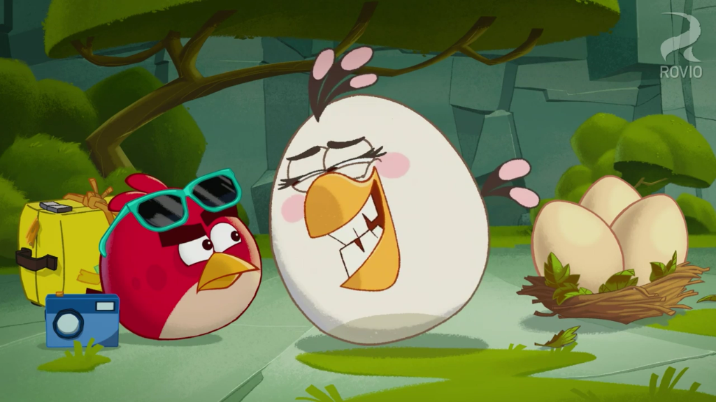 Angry Birds Toons Characters Eggs By Brunomilan13 On: Image - Off Duty Matilda Grin.PNG