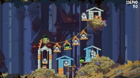 Angry Birds Star Wars 5-14 Moon of Endor 3 Star Walkthrough