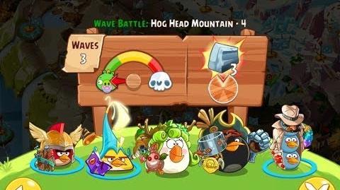 Angry Birds Epic Hog Head Mountain Level 4 Walkthrough