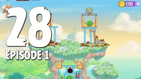 Angry Birds Stella Level 28 Walkthrough Branch Out Episode 1
