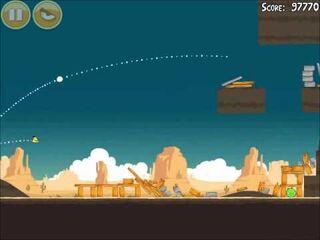 Official Angry Birds Walkthrough Ham 'Em High 14-4