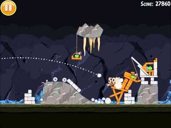 Official Angry Birds Walkthrough Mine and Dine 16-11