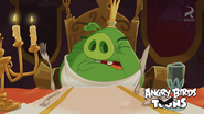 Angry birds toons hungry