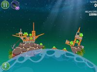 Pig Dipper 6-6 (Angry Birds Space)